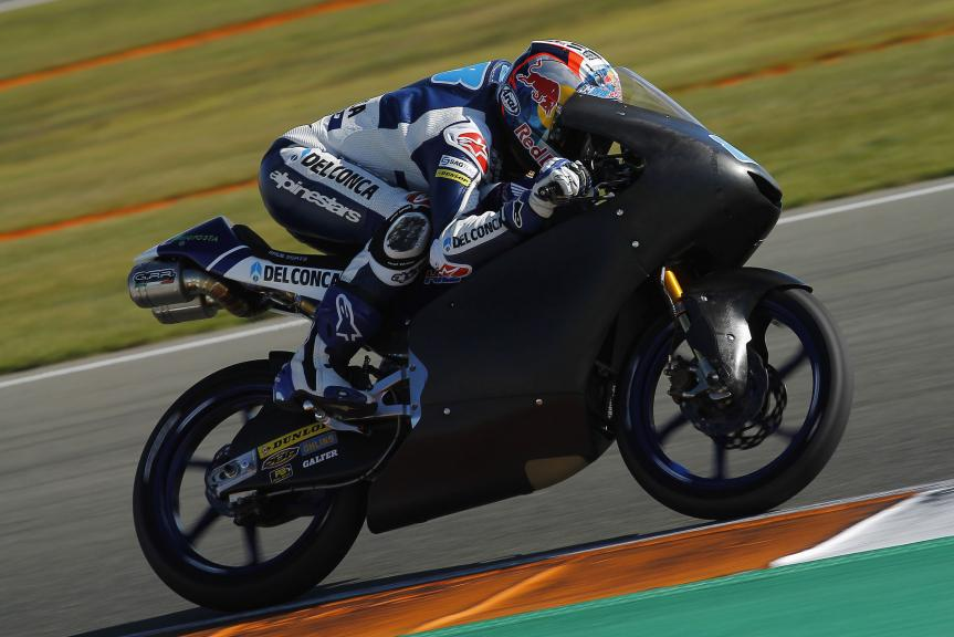 Jorge Martín, Moto2 & Moto3 ValenciaTest