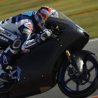 Martin Schnellster zum ersten Moto3™ Testtag