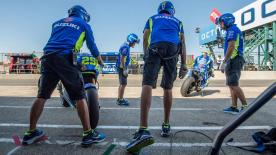 After failing to score a podium, Team Manager for Suzuki, Davide Brivio, explains that the team needs to refocus for next year