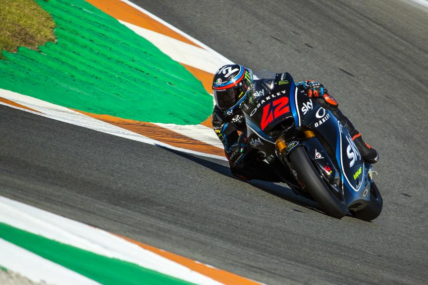 Francesco Bagnaia, Sky Racing Team VR46, ValenciaTest