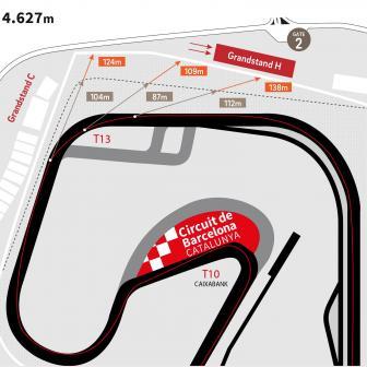 Circuit de Barcelona-Catalunya plant Streckenänderung