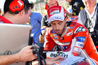 "Dovizioso: ""We gave everything"""