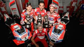 Sporting Director for Ducati, Paolo Ciabatti, shares his thoughts on an extremely positive season for the Italian team