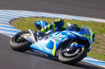 Iannone comienza el test de Jerez con buen pie