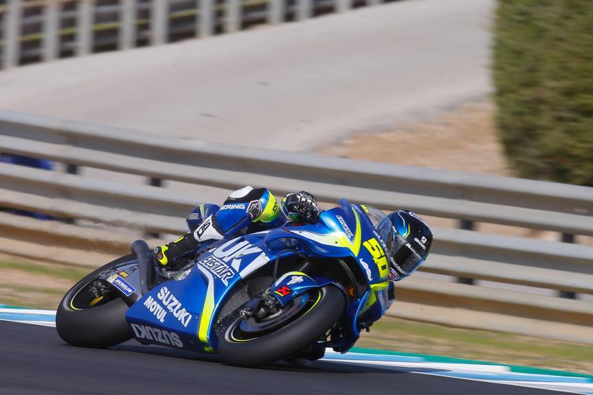 Sylvain Guintoli, Team Suzuki Ecstar, Jerez MotoGP™ Private Test