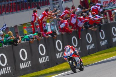 Los 10 momentos clave de la temporada de Dovizioso