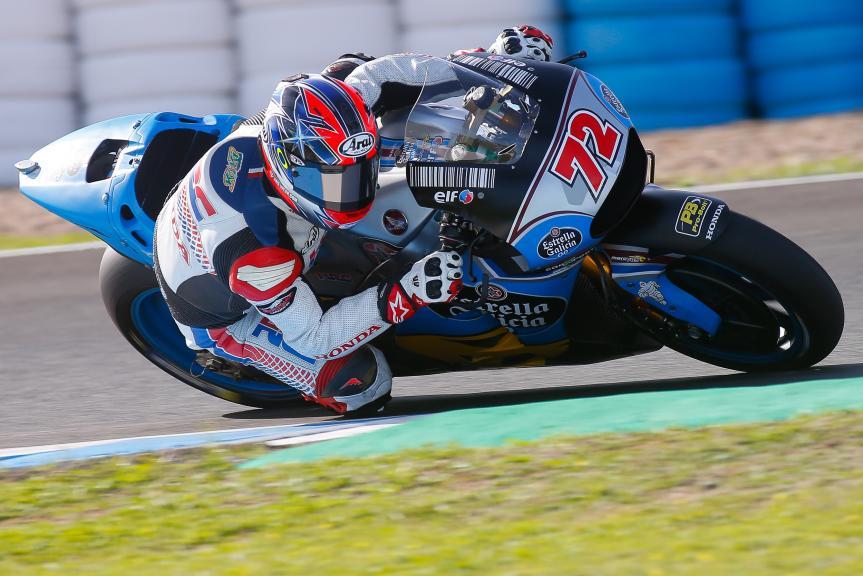 Takumi Takahashi, EG 0,0 Marc VDS, Jerez MotoGP™ Private Test