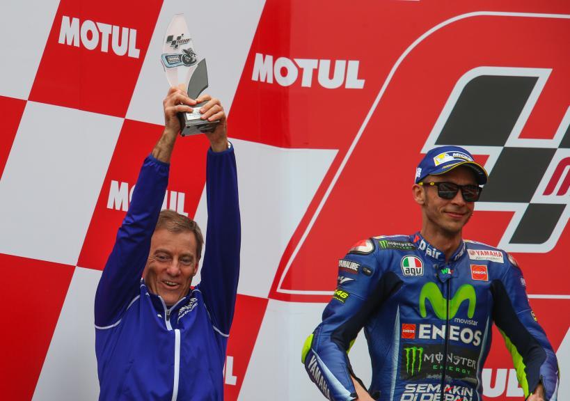 Lin Jarvis, Valentino Rossi, Movistar Yamaha MotoGP