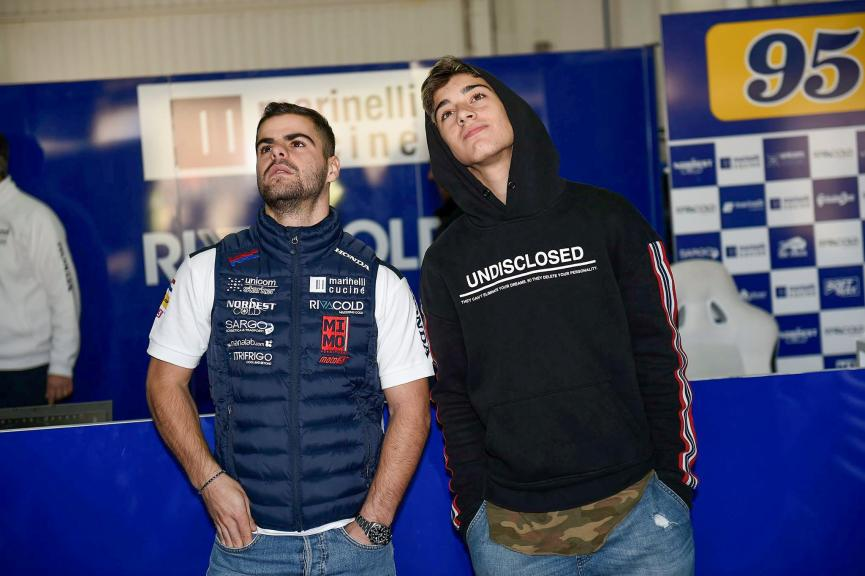 Tony Arbolino, Romano Fenati, Snipers Team
