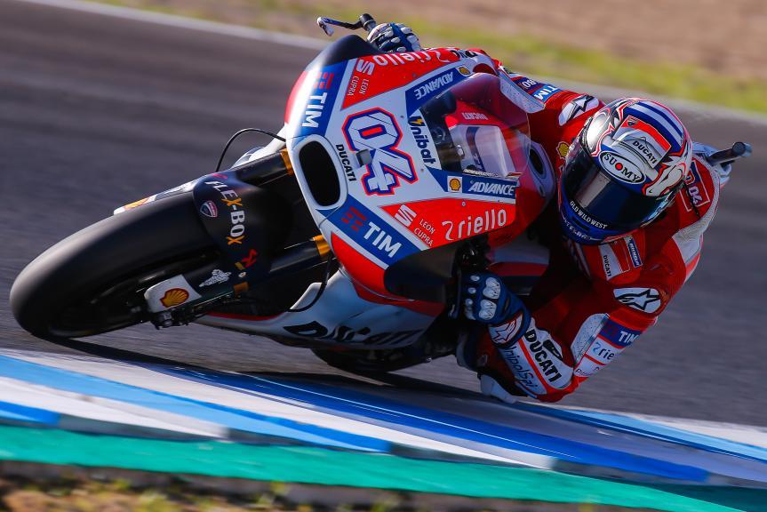 Andrea Dovizioso, Ducati Team, Jerez MotoGP™ Private Test