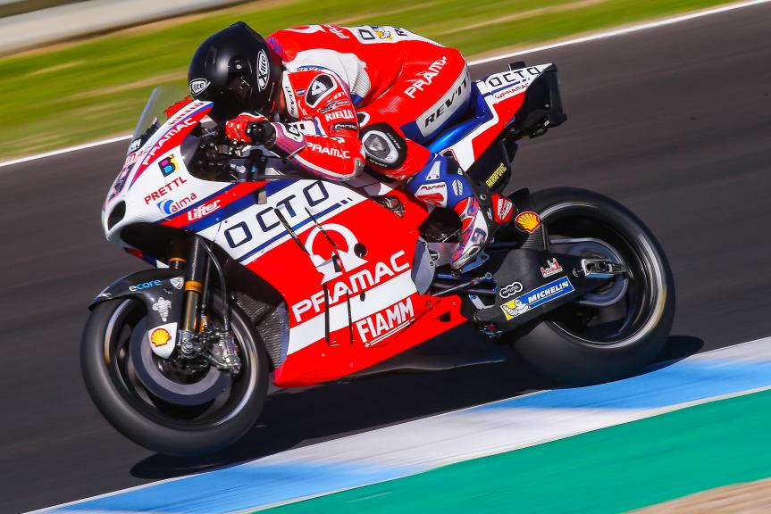 Danilo Petrucci, OCTO Pramac Racing, Jerez MotoGP™ Private Test