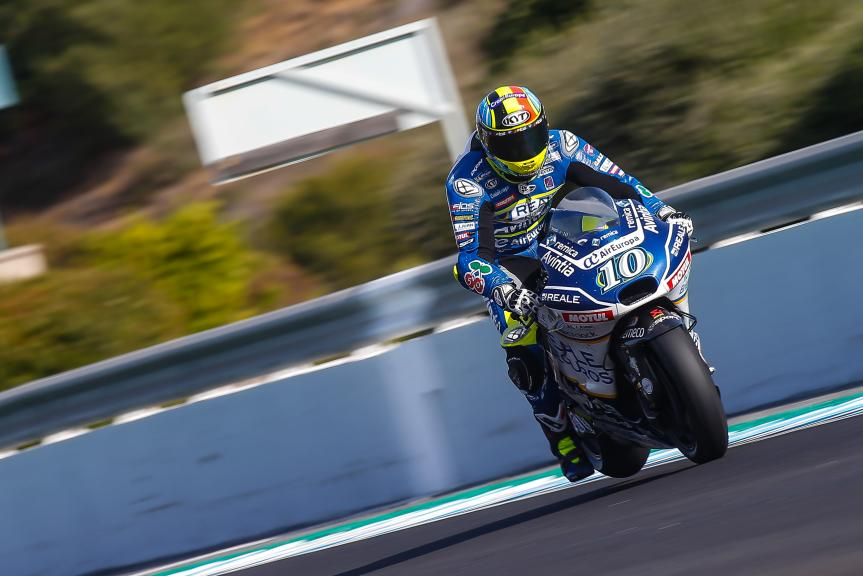 Xavier Simeon, Reale Avintia Racing, Jerez MotoGP™ Private Test