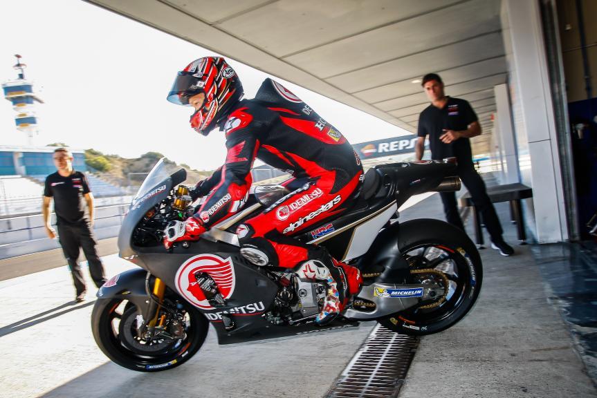 Takaaki Naakagami, LCR Honda Idemsu, Jerez MotoGP™ Private Test