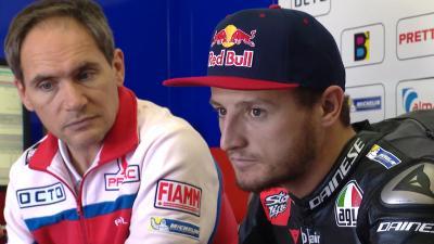 Miller & Tardozzi on adapting to the Ducati