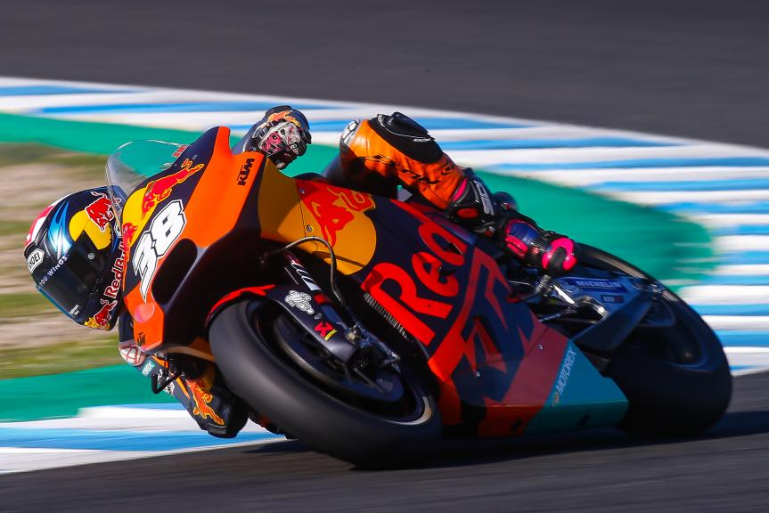 Bradley Smith, Red Bull KTM Factory Racing, Jerez MotoGP™ Private Test