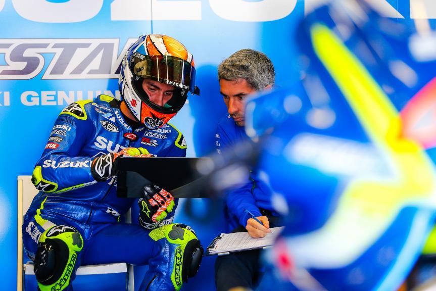 Alex Rins, Team Suzuki Ecstar, Jerez MotoGP™ Private Test
