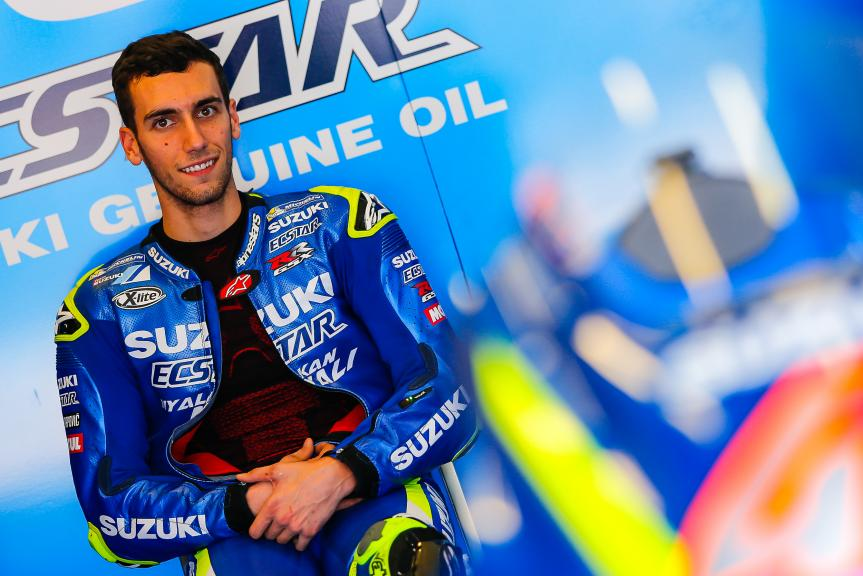 Alex Rins, Team Suzuki Ecstar, Jerez MotoGP™ Private Test
