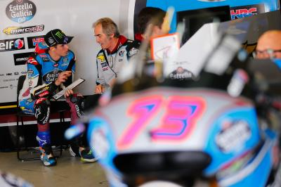 "Alex Marquez: ""The power of a MotoGP™ bike is incredible"""