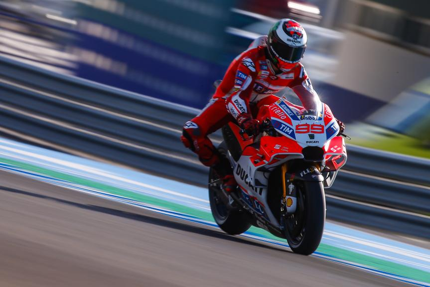 Jorge Lorenzo, Ducati Team, Jerez MotoGP™ Private Test