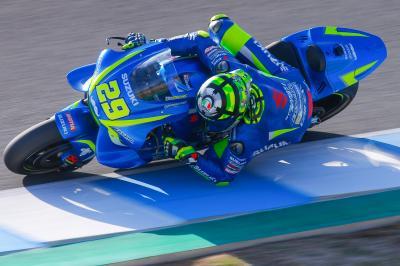 Test a Jerez, ottima partenza di Iannone
