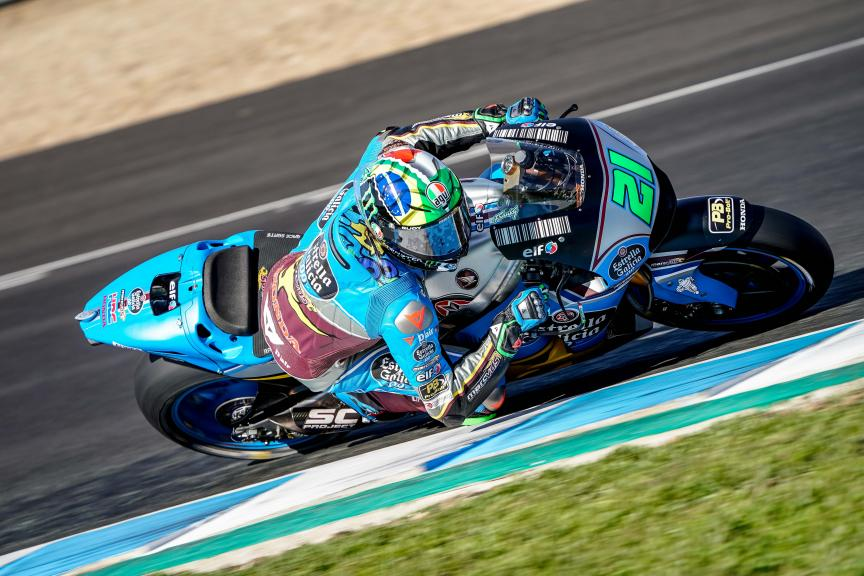 Franco Morbidelli, EG 0,0 Marc VDS, Jerez MotoGP™ Private Test
