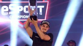 'Trastevere73' rubs shoulders with the stars of the paddock after becoming the first ever MotoGP™ eSport World Champion