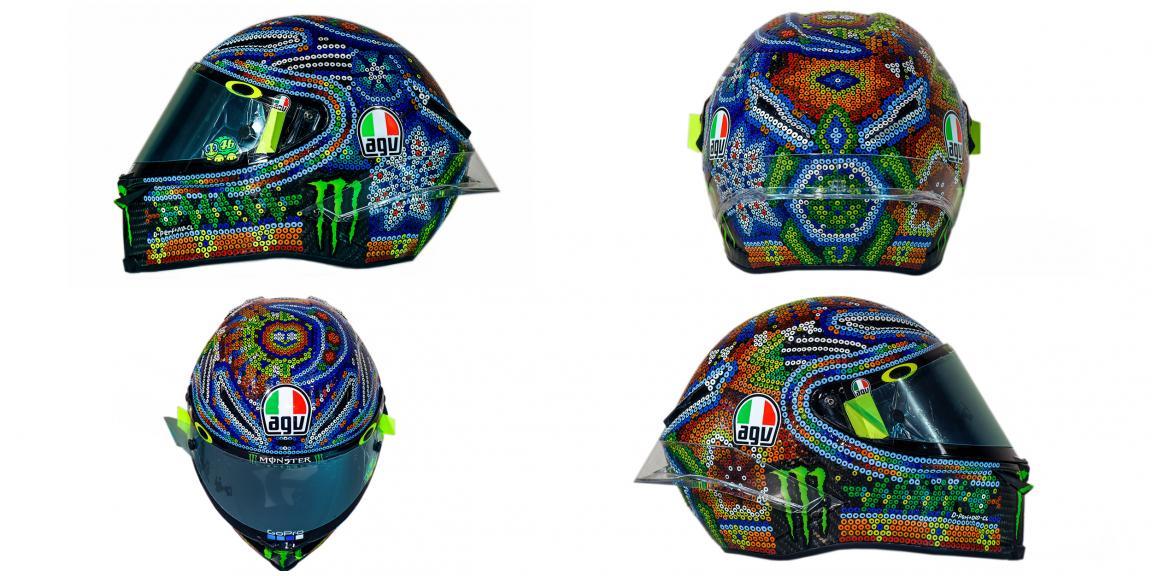 Helmet Rossi Malaysia Test