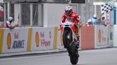 GP Recap: Dovizioso means business in Malaysia