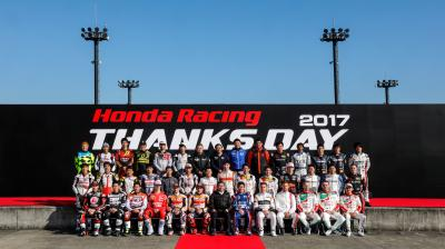 Honda Racing celebrates 2017 season