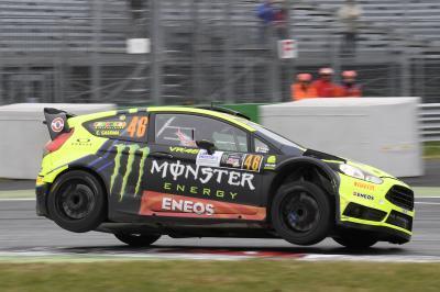 Rossi hace historia en el Monza Rally Show