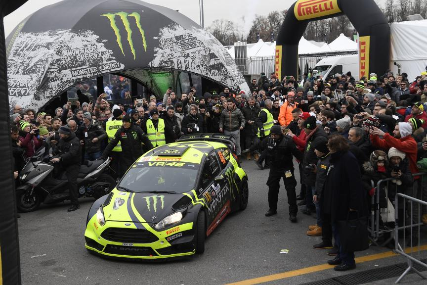 Monza Rally with Valentino Rossi