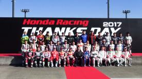 Marquez, Pedrosa and Nakagami attended Honda Racing's annual Thanks Day at the Twin Ring Motegi