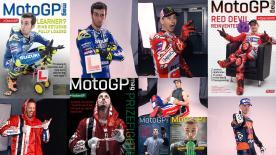 Gli scatti fotografici più belli dei corridori della MotoGP™, volti da prima pagina