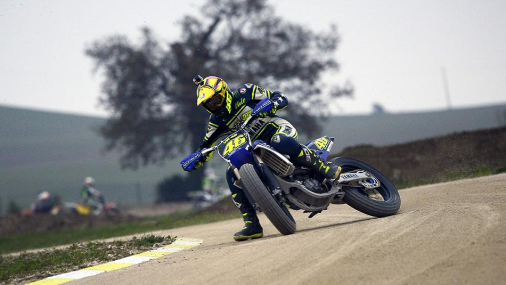 Rossi in the ranch