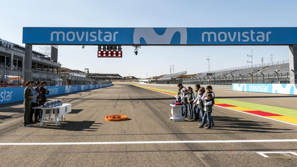 MasterChef Junior 5 at the Aragon GP