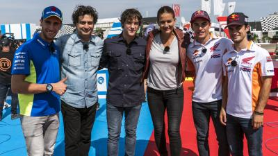 Marquez, Pedrosa and Rins on MasterChef Junior