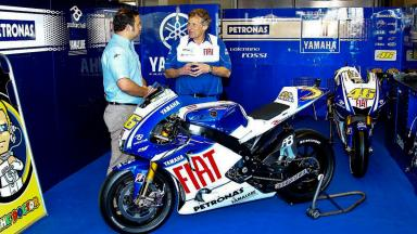 The Doctor's YZR-M1 explained by Jeremy Burgess