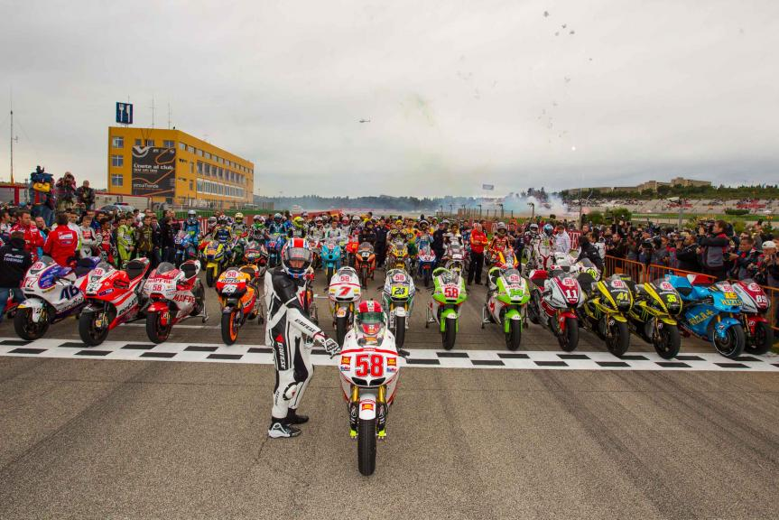 Tribute to Marco Simoncelli
