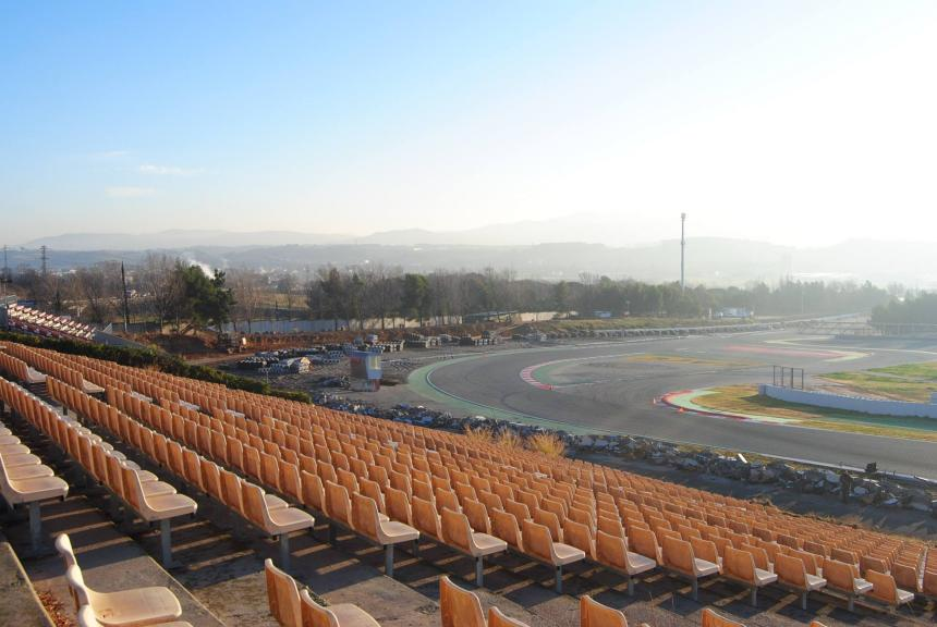 Montmelo - New track