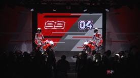 Il Team è pronto. Da Bologna si punta alla vetta del Campionato del Mondo MotoGP™