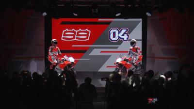 Highlights from Ducati's 2018 launch event
