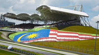 Back with a bang: the wait for the #SepangTest is over