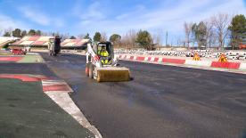 The circuit, based in Montmelo, is having new tarmac laid ahead of the 2018 MotoGP™ season
