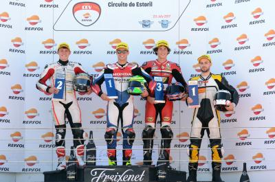 Who graduates from FIM CEV Repsol to Moto2™ in 2018?