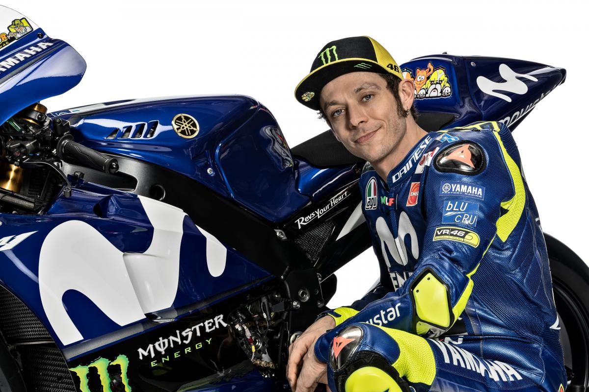 Rossi Ready For 2018 I Think We Can Do Better Motogp