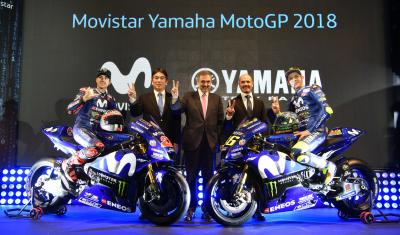 Highlights from Movistar Yamaha's 2018 launch