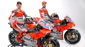 Relive the 2018 Ducati Team launch in Borgo Panigale
