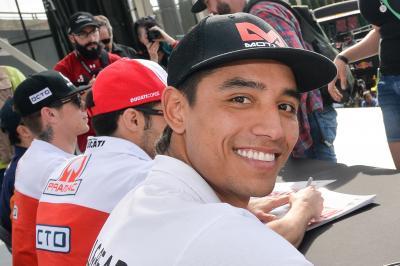 Hernández pilotará la Yamaha del Tech3 en el #SepangTest