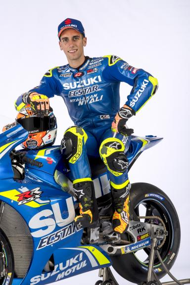 Alex Rins, Team Suzuki Ecstar, 2018 launch