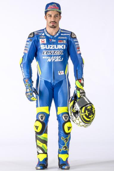 Andrea Iannone, Team Suzuki Ecstar, 2018 launch
